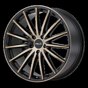 "Helo Wheels - HE894 Construction: Cast Aluminum Available Diameters: 17"", 18"", 20"""